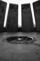 yerevan -  genocide memorial by habili-and1