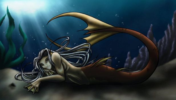 Karoon as a merman by Mirri