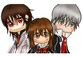 Vampire Knight chibi by Foreveryoung8