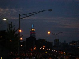 The Empire State Building by parvezz