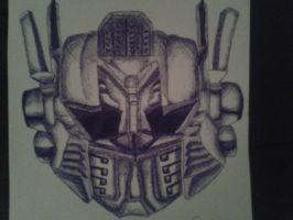 ImmortalHD's optimus prime mask by Sweet-Ex