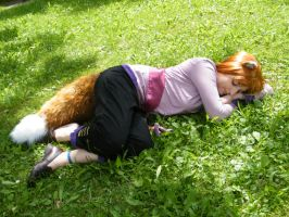 Horo Spice and Wolf Cosplay by Black-Akiho