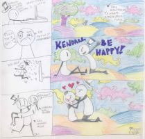 Kendall Be Happy by TANKBELLY