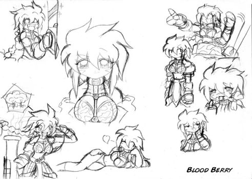 Sketch: Bloodberry by SeemosYantra