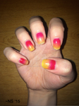 Fall Ombre Nails by NScole