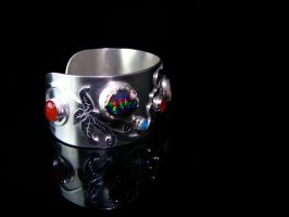 Mexican Opal Cuff 2 by jessa1155