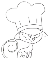 Kat Cooking Hat Base by Barry-Rose