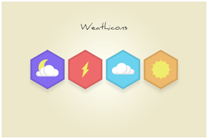 136 Weathicons (freebie by pixelcave) by pixelcave