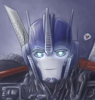 TFP: Optimus painting -finished- by Fulcrumisthebomb