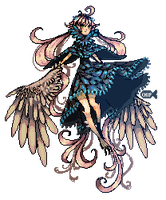 Harpy Pixels by ChippyFish