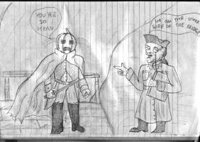 humorous halloween sketch.... by Corsico