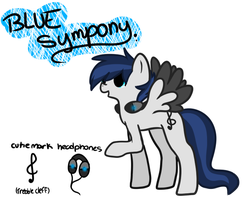 New Blue symphony Reference by pokemonshadow