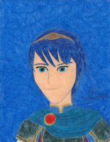 A Portrait of Marth by daisyplayer1