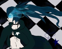 Black Rock Shooter by WhiterStar