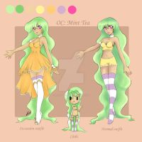 Mint tea ref sheet by magicpotion