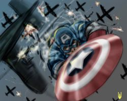 DSC 100909 - Captain America by Cyberborg