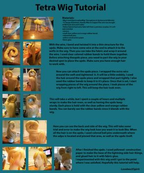 Tetra Wig Tutorial by LovelessXSpirit