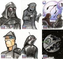 Star Wars Galaxy Sketch Cards - 06 by Monster-Man-08