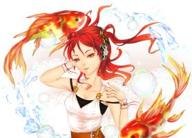 Goldfish Music by Amano-M