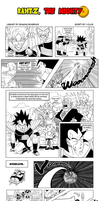DBM Contest Parody 2 - Raditz the Mighty by BungaCadabra23