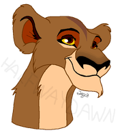 Young Zira by LittlePuffin
