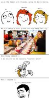 Rage Comic - Sushi by MrJak