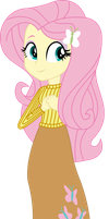 Vector - Casual Fluttershy by SketchMCreations