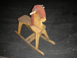 rocking horse 02 by Stephasaurus-Stock