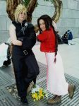 Let's have fun - Cloud Aerith by FuriaeTheGoddess