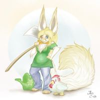 Harvest Moon: Inevitable Furry by Albino-Kitsune