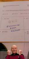 When you write YOLO on a test by onyxcarmine