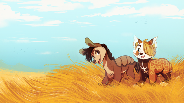 Golden Fields by GemFeathers