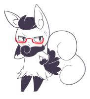 Meowstic Request by JacyA