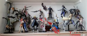 My Final Fantasy XIII/XIII-2 Play Arts setup by zelu1984
