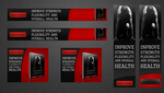 Strength Training for Youth Athletes Banners by n1kol4n1k