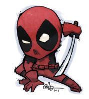 Deformed Deadpool by lord-phillock