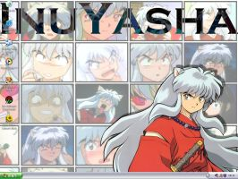 My InuYasha Desktop by cowgirlem