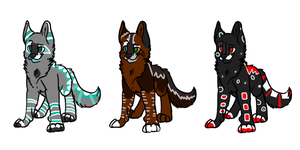 Dog Adopts - ALL SOLD by ForgedRains