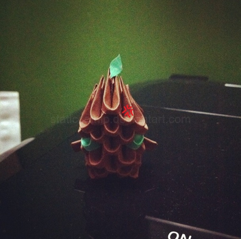 3D Origami: Sapling (Maokai) (League of Legends) by inyeon