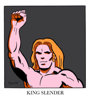 King Slender by ChrisFaccone