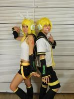 Rin Kagamine Cosplay by awesome-Kathi