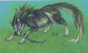 Wolf Link- for Dreamwolvie by who-stole-MY-name