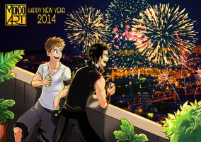 Color the Sky in 2014 by MondoArt