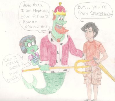 Percy Meets Neptune by MissySerendipity