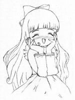 Kinda old Tomoyo by LiliQuant