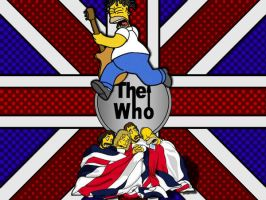 Simpsons+The Who '08 by NecronomiconED2
