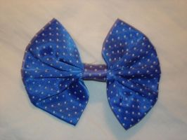 Blue Hair Bow by racehorse87-stock