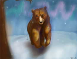 brother bear - kenai by Shiroifugu