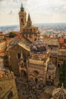 Church in Bergamo by qwstarplayer