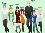 And Then There's Yosuke... by izzartsy